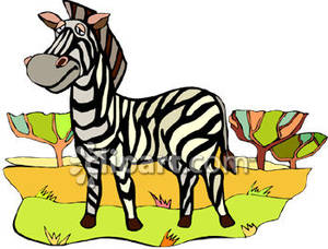 Cartoon royalty free picture. Clipart zebra sad