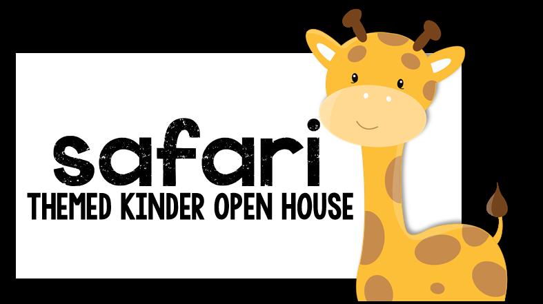 Kindergarten spring open house. Clipart zebra safari themed