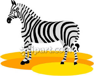 Clipart zebra simple. Royalty free picture