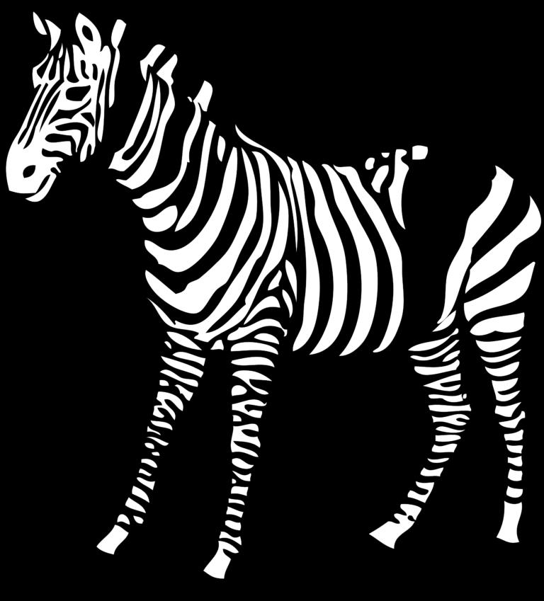 Clipart zebra zebra african.  clip art image