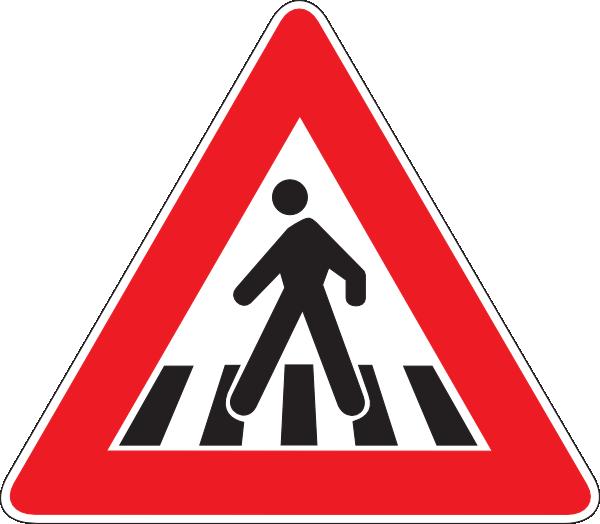 Pedestrian clip art at. Clipart zebra zebra crossing