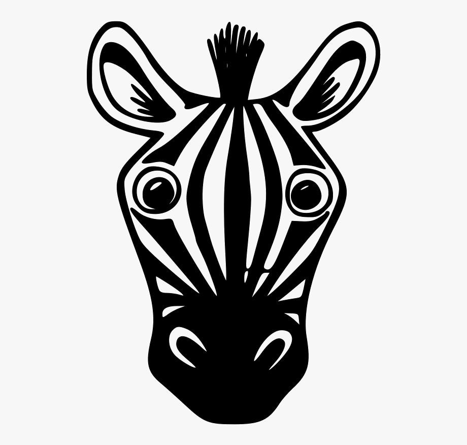 How to draw a. Clipart zebra zebra face