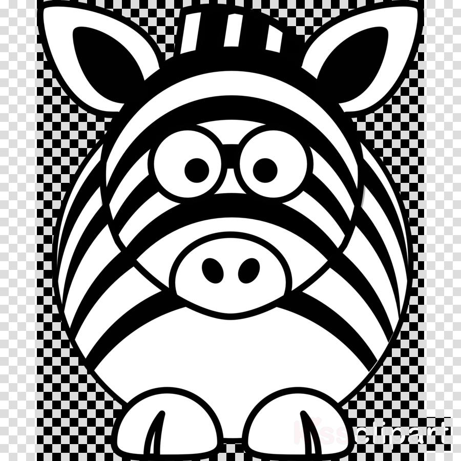 Cartoon magnet white transparent. Clipart zebra zebra face