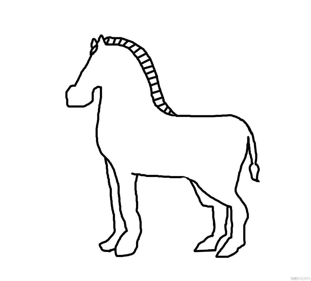 Clipartxtras handwriting animal . Clipart zebra zebra outline