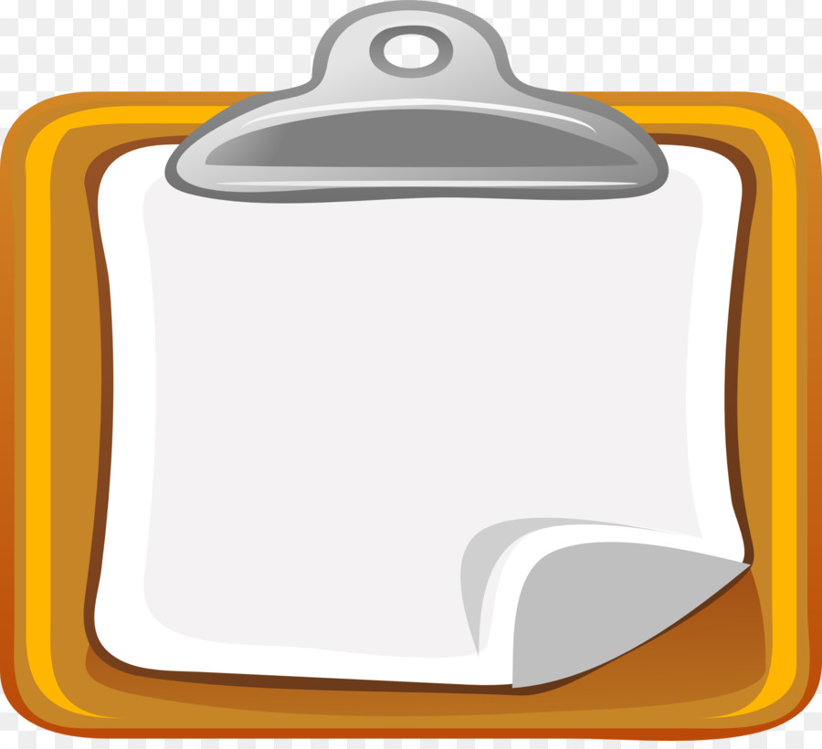Clipboard clipart. Clip art yellow notes