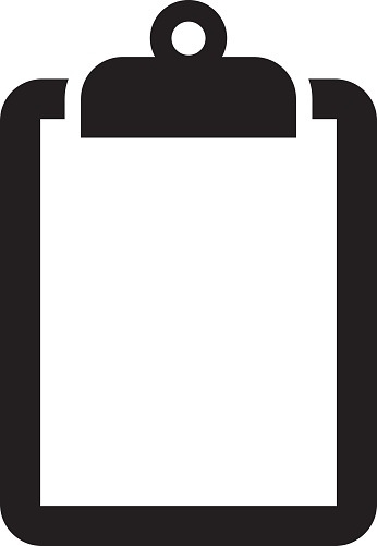 Black and white https. Clipboard clipart