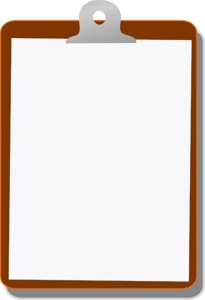 Clipboard clipart. Clip art free vector