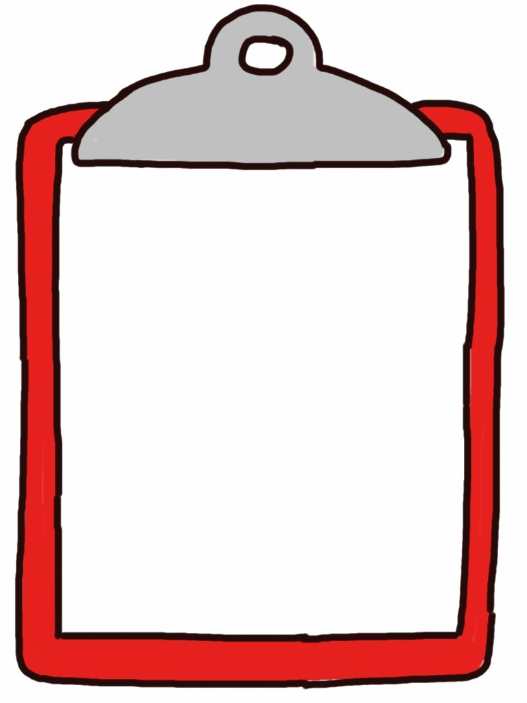 Checklist world of example. Clipboard clipart