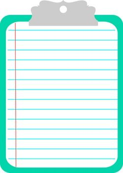 Clipboard clipart. Clipboards planners and images