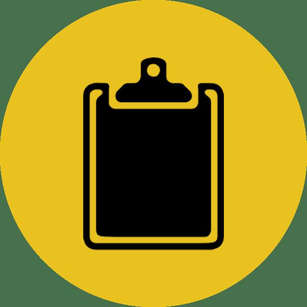 Clipboard clipart assessment. Asbestos roof removal zen