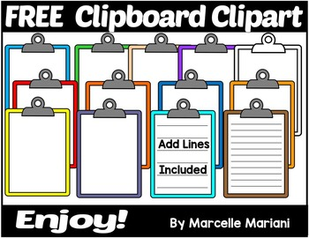 Clipboard clipart assessment tool. Free clip art