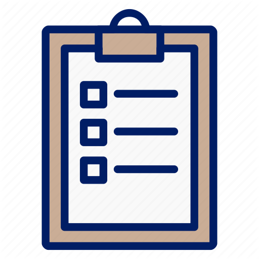 gym filled outline. Clipboard clipart assessment tool