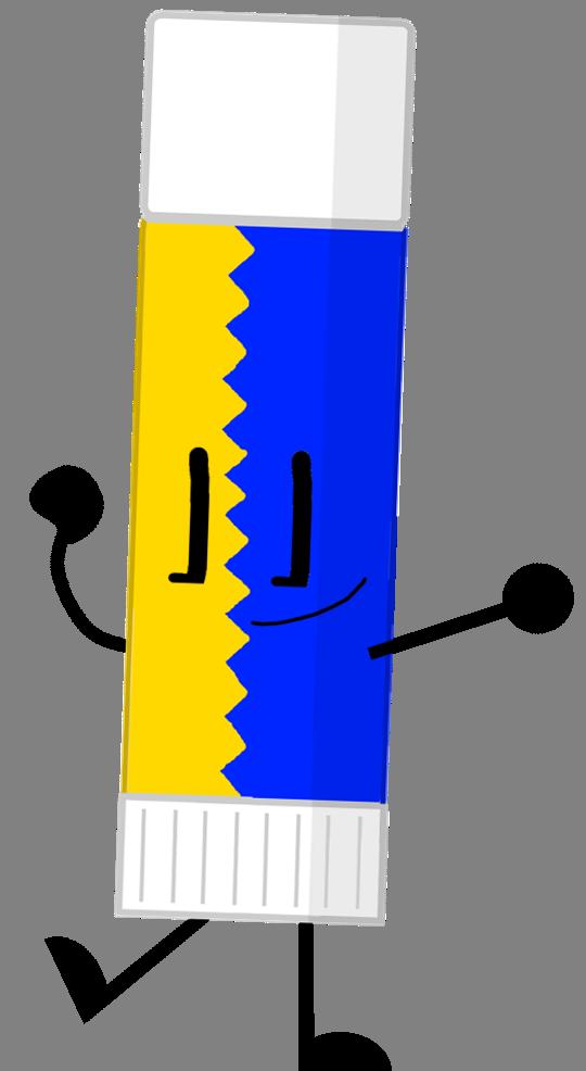 Glue clipart bfdi. Gluestick anthropomorphous adventures wiki