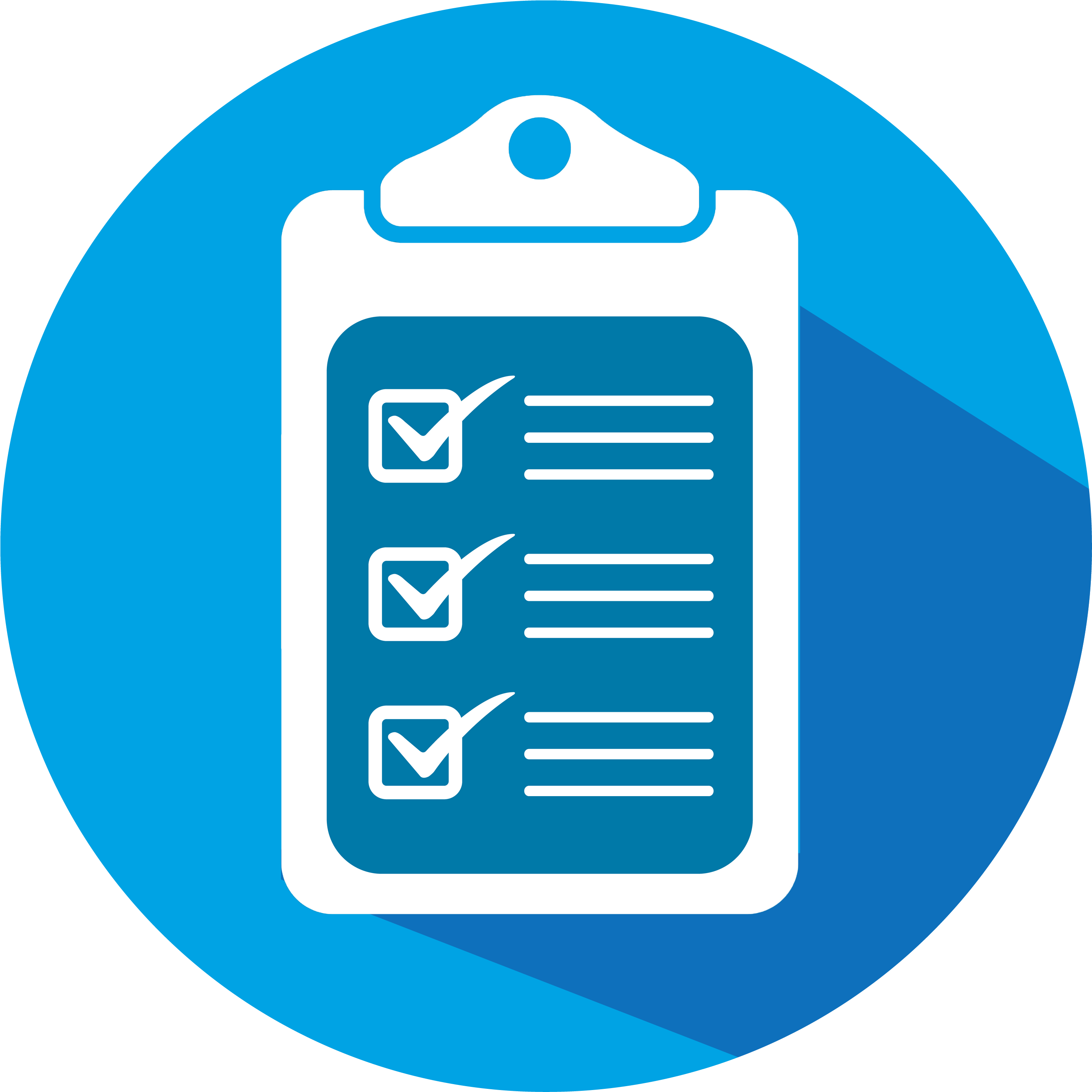 New enquiry checklist for. Clipboard clipart blue