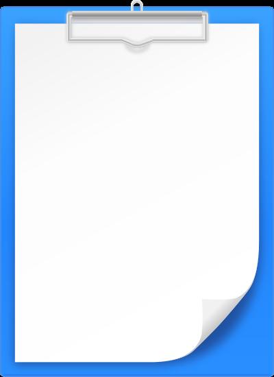 Vector icon svg public. Clipboard clipart blue