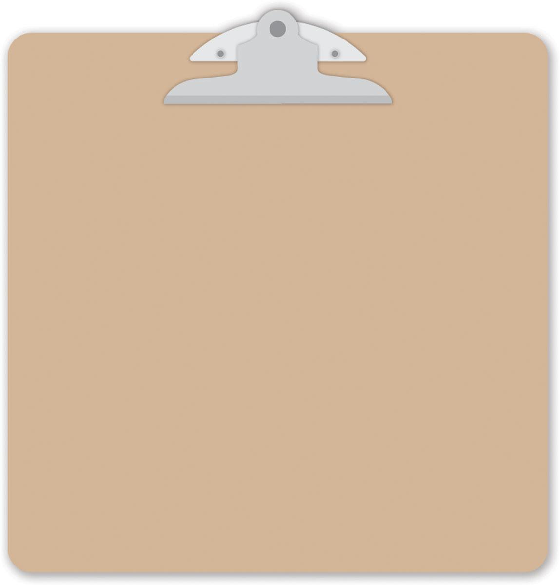 Clipboard clipart brown. Doodlebug design natural