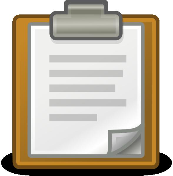 Clipboard clipart brown. Edit paste clip art