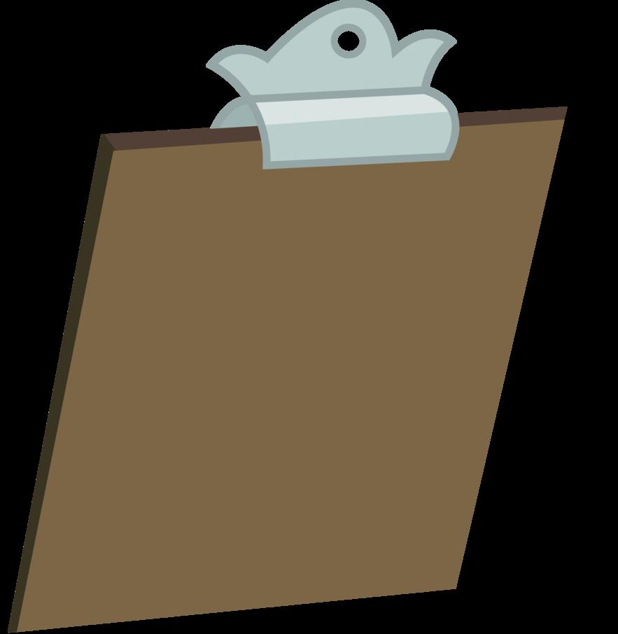 clipboard clipart brown board