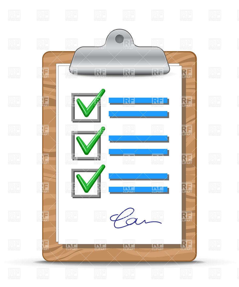 Clip board art group. Clipboard clipart checklist