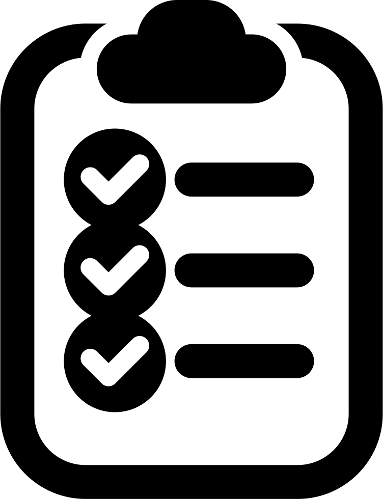 On svg png icon. Clipboard clipart checklist