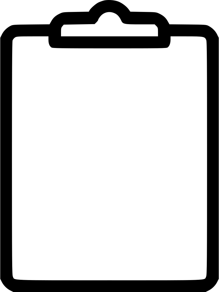 Clipboard Svg Png Icon Free Download