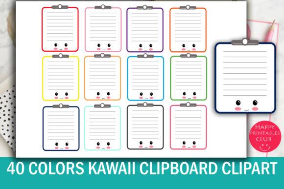 Clipboard clipart cute.  kawaii images