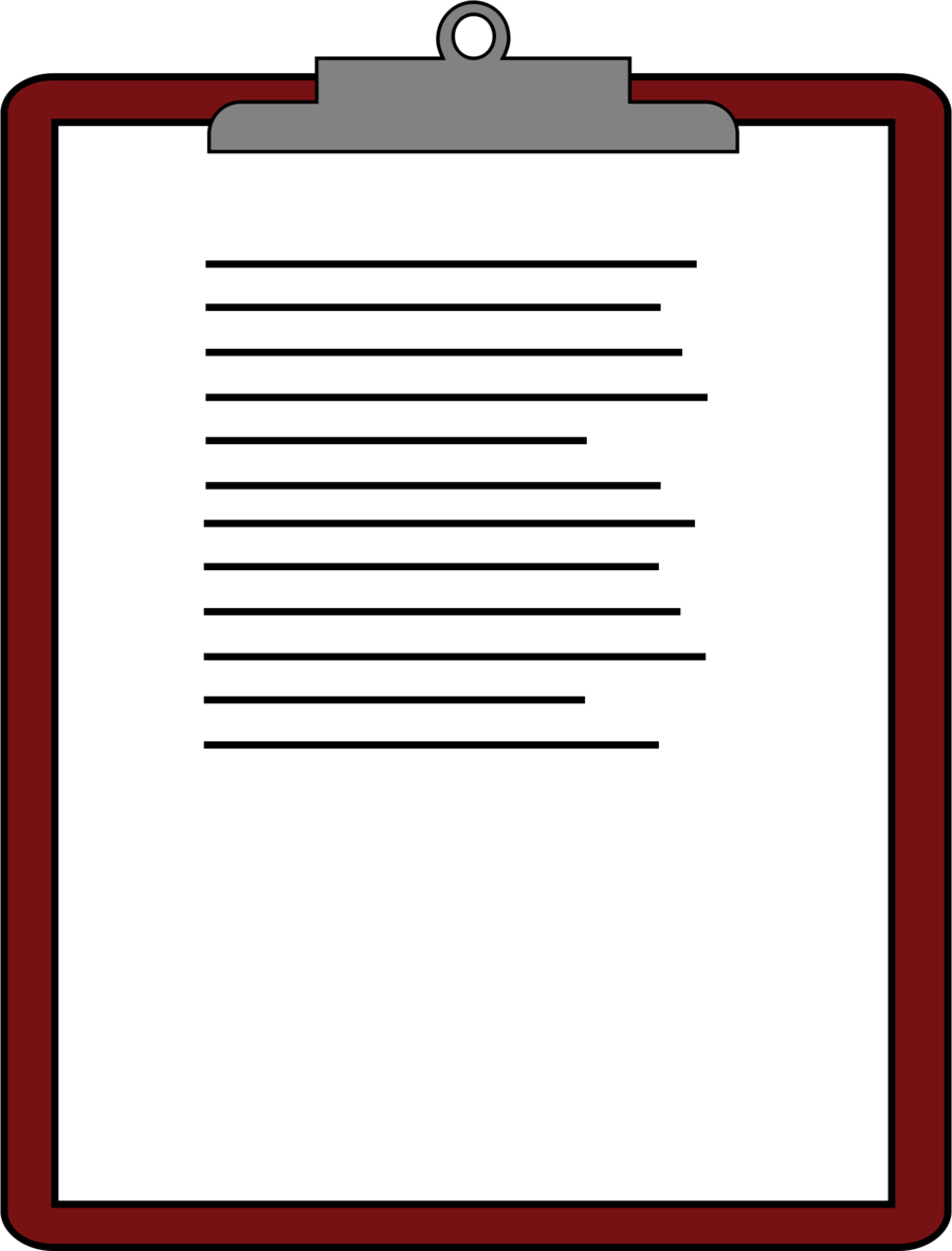 Clipboard clipart document. Business background paper text