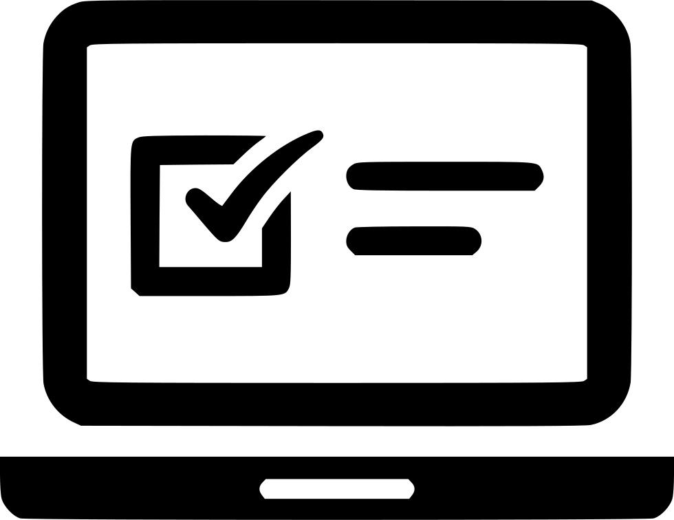 Clipboard clipart exam. Laptop online questionnaire web