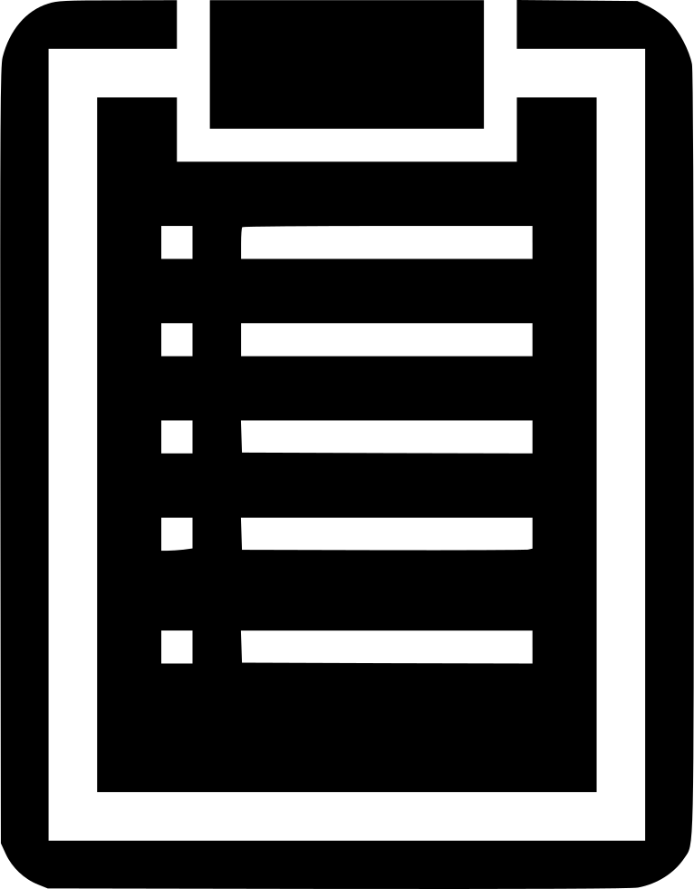 Clipboard clipart exception. Svg png icon free