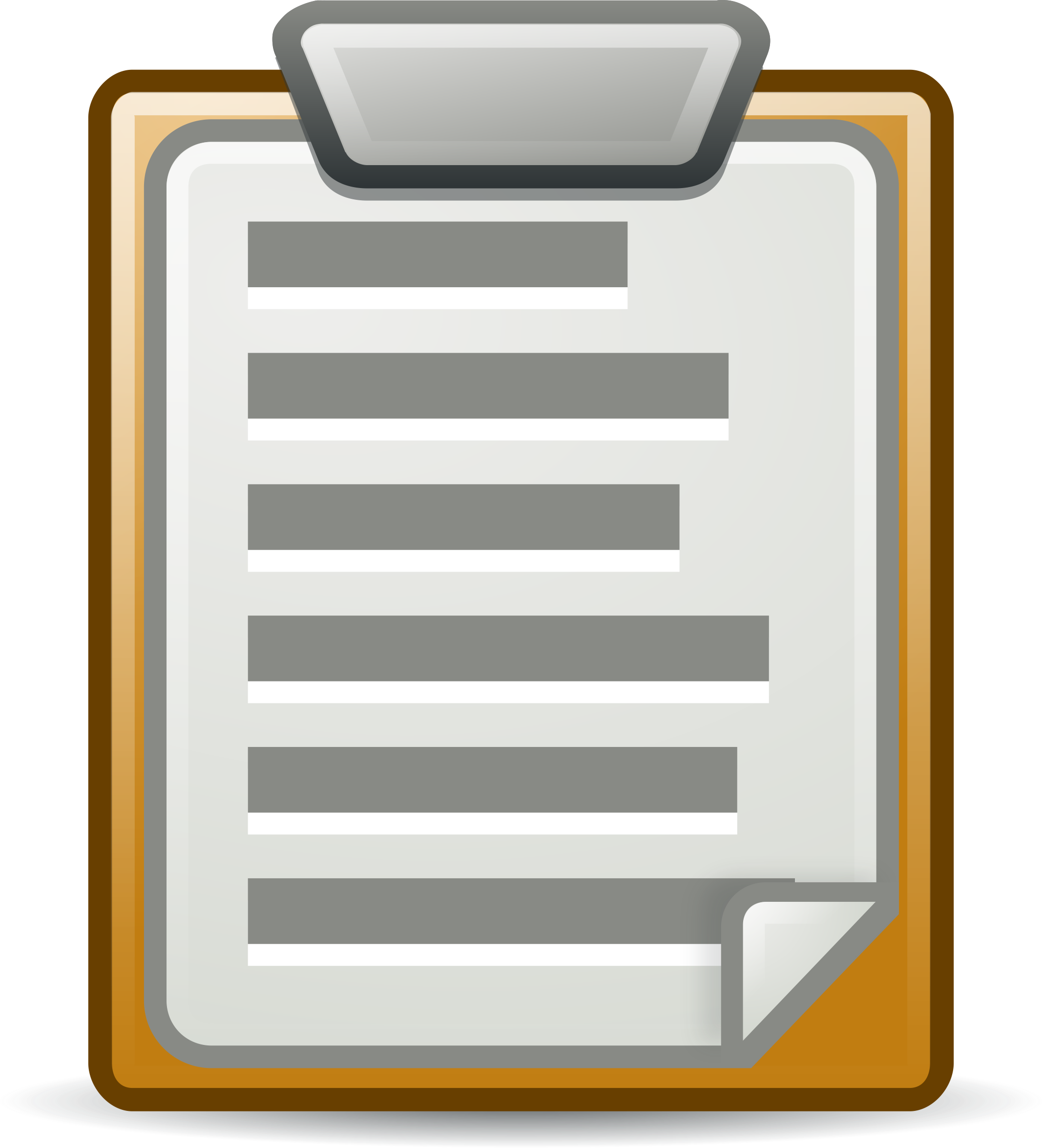 We inspect thumbnail image. Clipboard clipart inspector