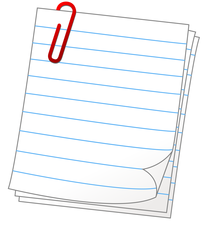 Notepad clipart interactive notebook.  png pinterest bullet