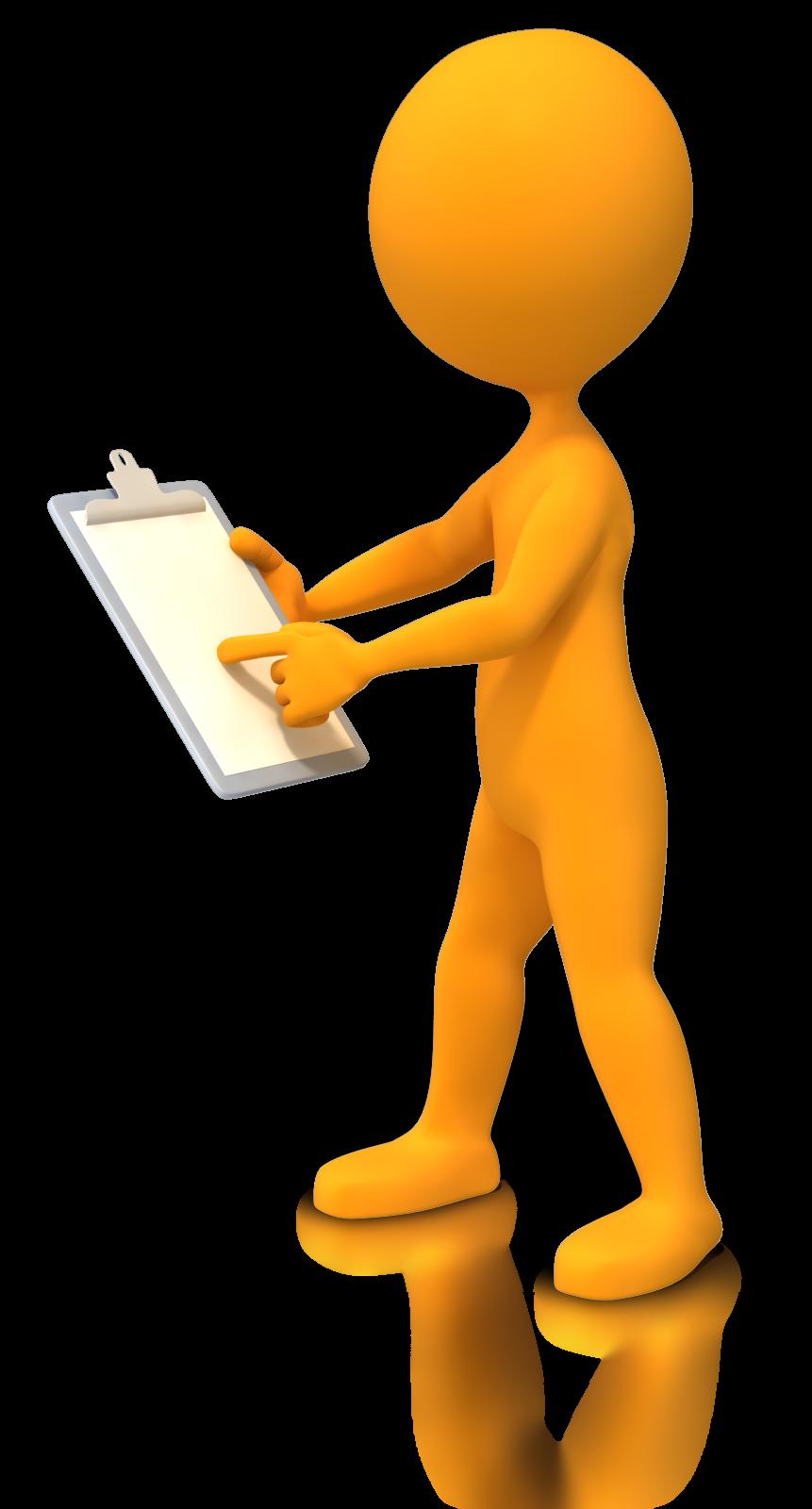 Animation clipboard stick figure. Evaluation clipart evaluation sheet