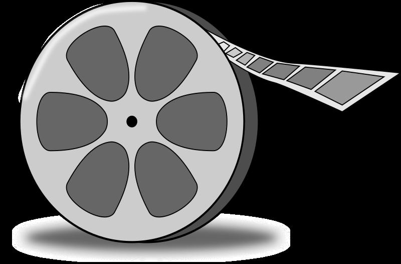 Movie clipart clipboard. Film reel medium image