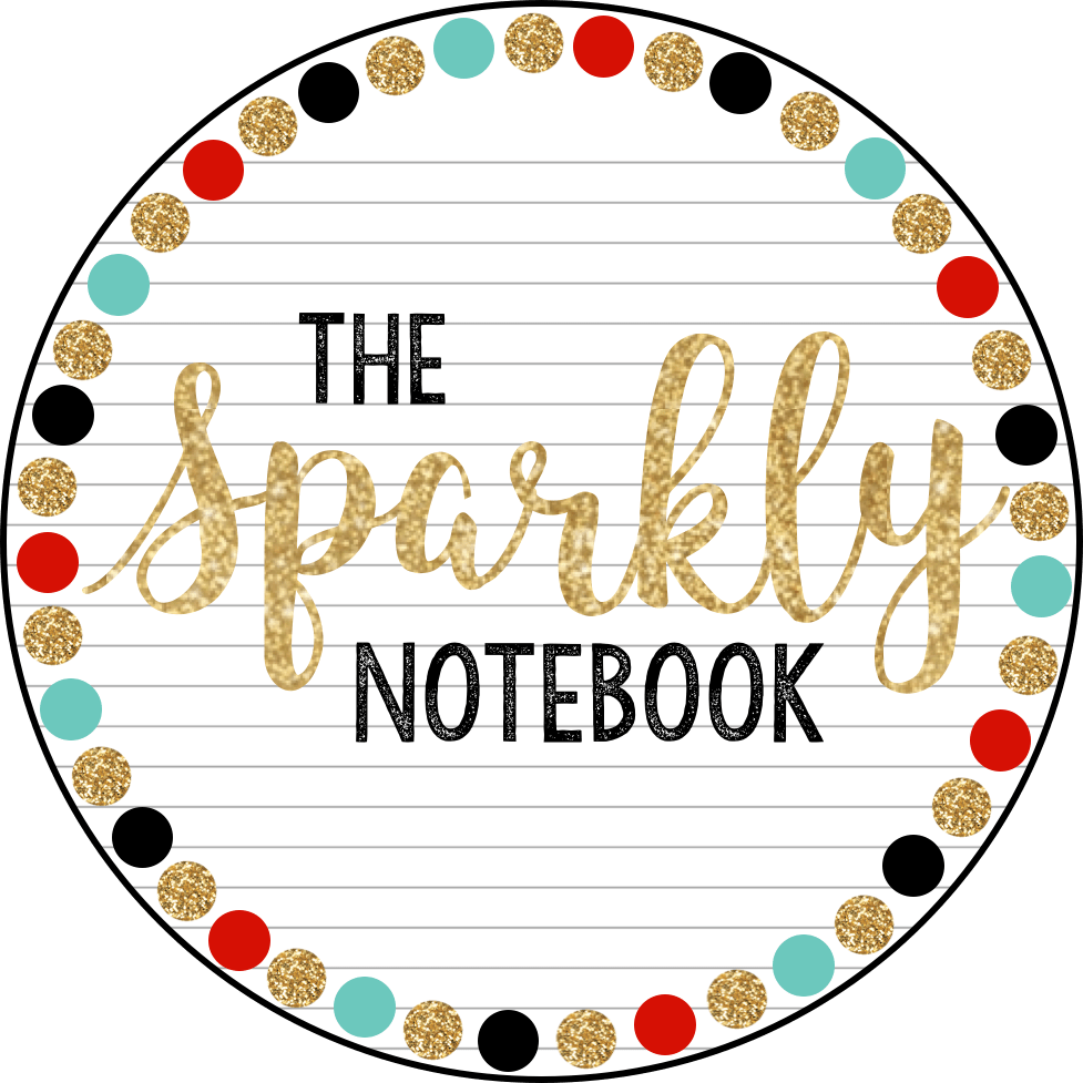 The sparkly notebook professional. Curriculum clipart assignment book
