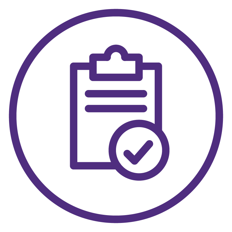 Process and execution gnc. Clipboard clipart purple