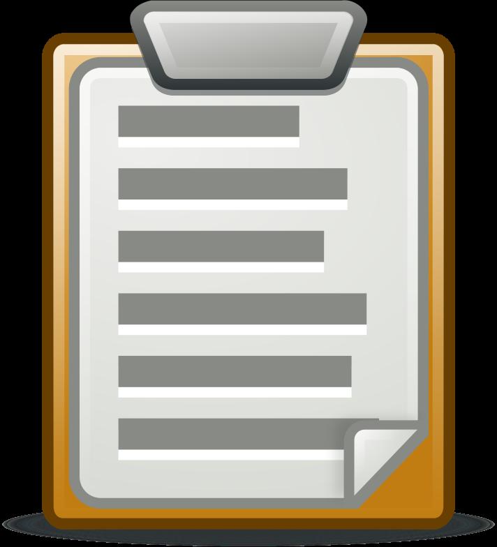 Clipboard clipart question paper. Medium image png
