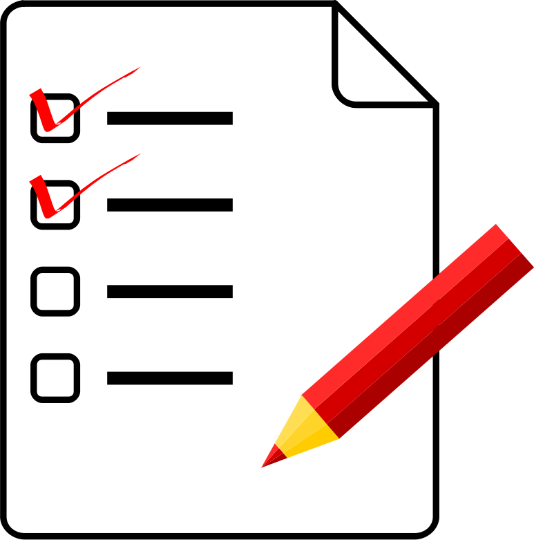 point checklist for. Clipboard clipart question paper
