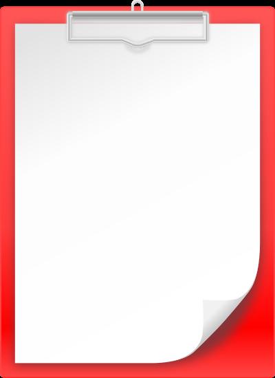 Clipboard clipart red. Vector icon clip art