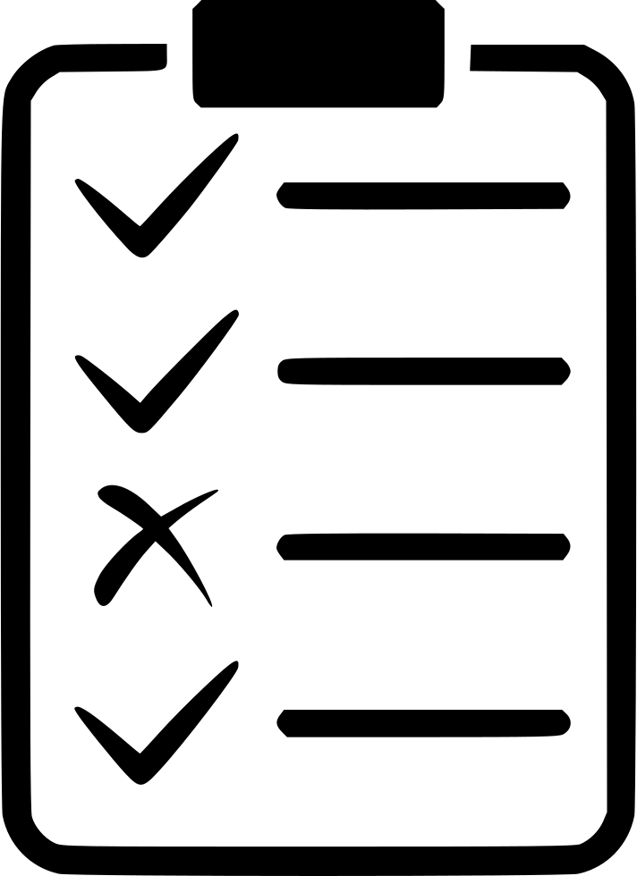 Form application test clipboard. Organization clipart planning committee