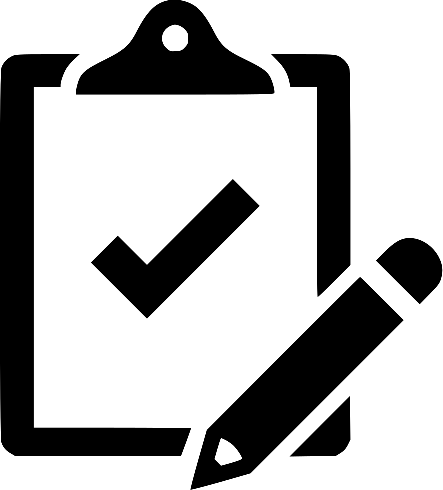 clipboard clipart requirement