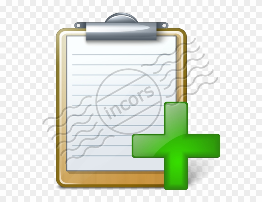 Add image list cartoon. Clipboard clipart task