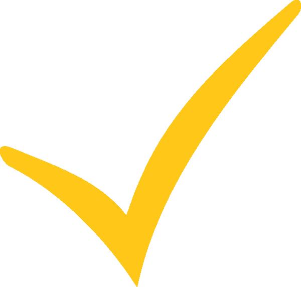 Clipboard clipart tick. Yellow orange space clip