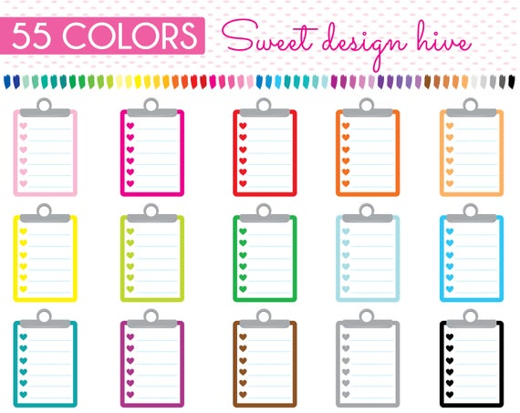Clipboard clipart to do. List line notepaper notepad