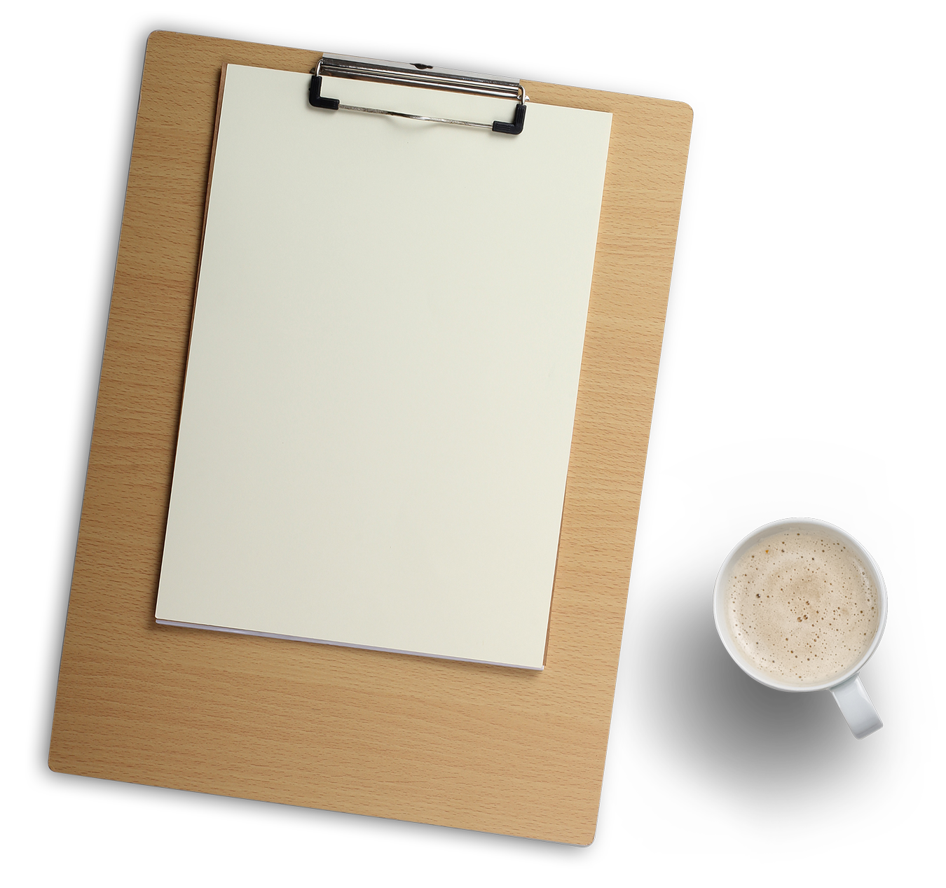 Clipboard clipart transparent background. Wood and coffee cup