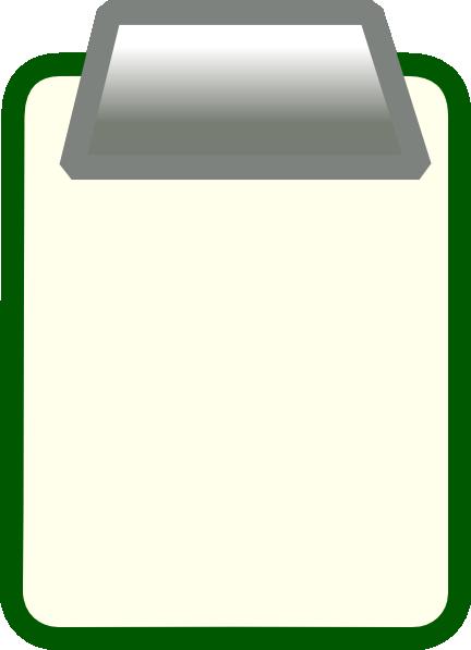 Clip art at clker. Clipboard clipart transparent background