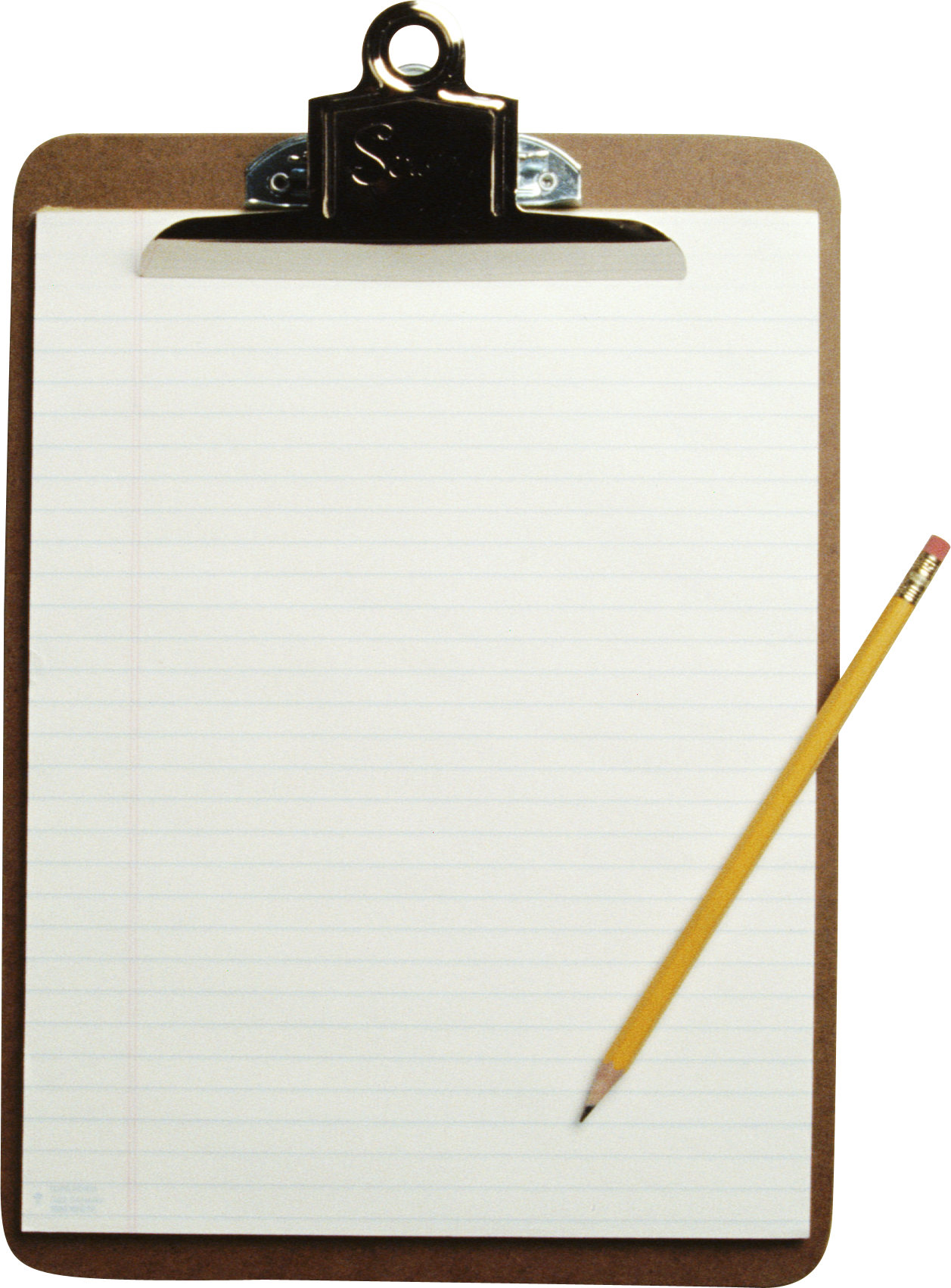 Paper sheet png images. Clipboard clipart transparent background