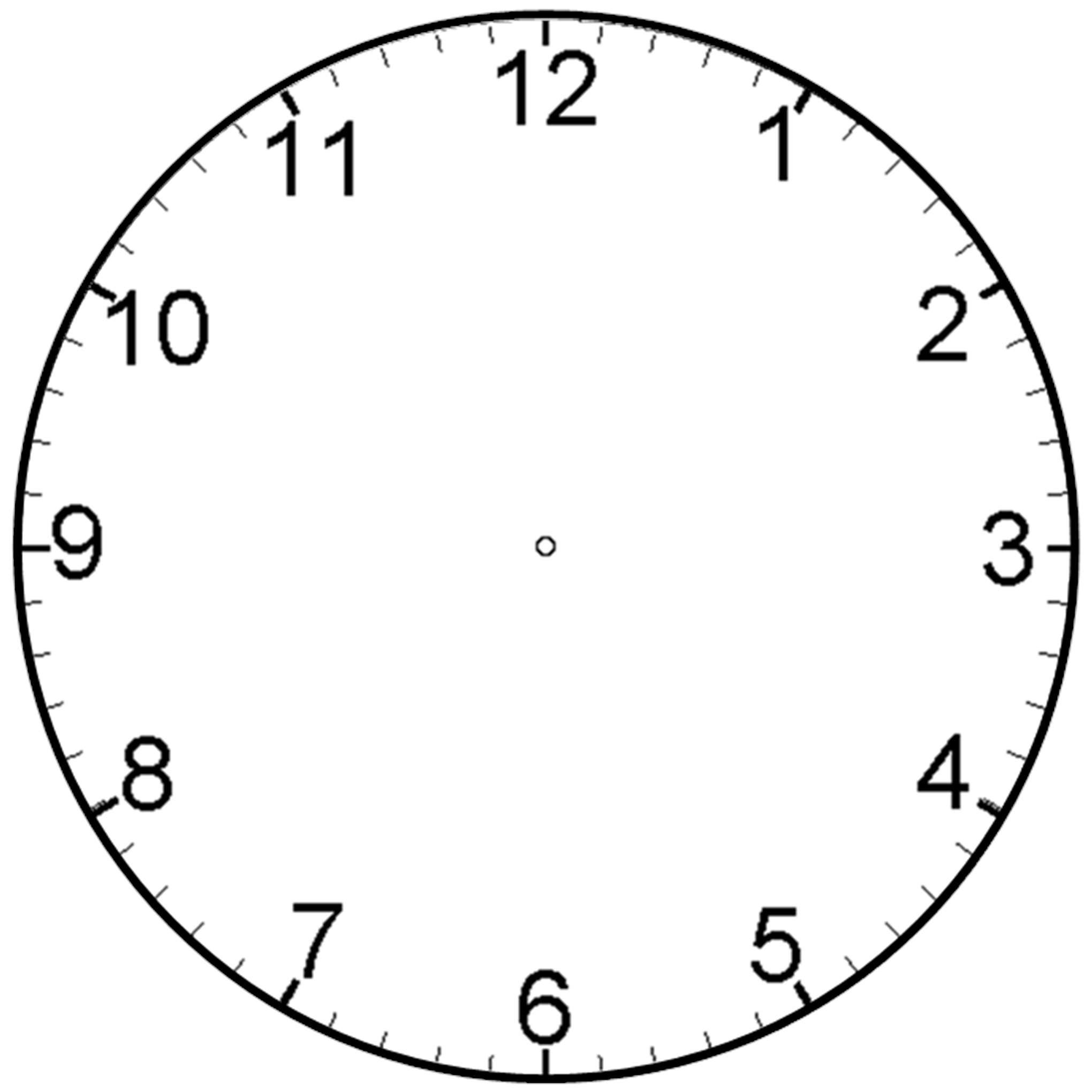 Blank clock tzeojyjc jpeg. Clocks clipart plain