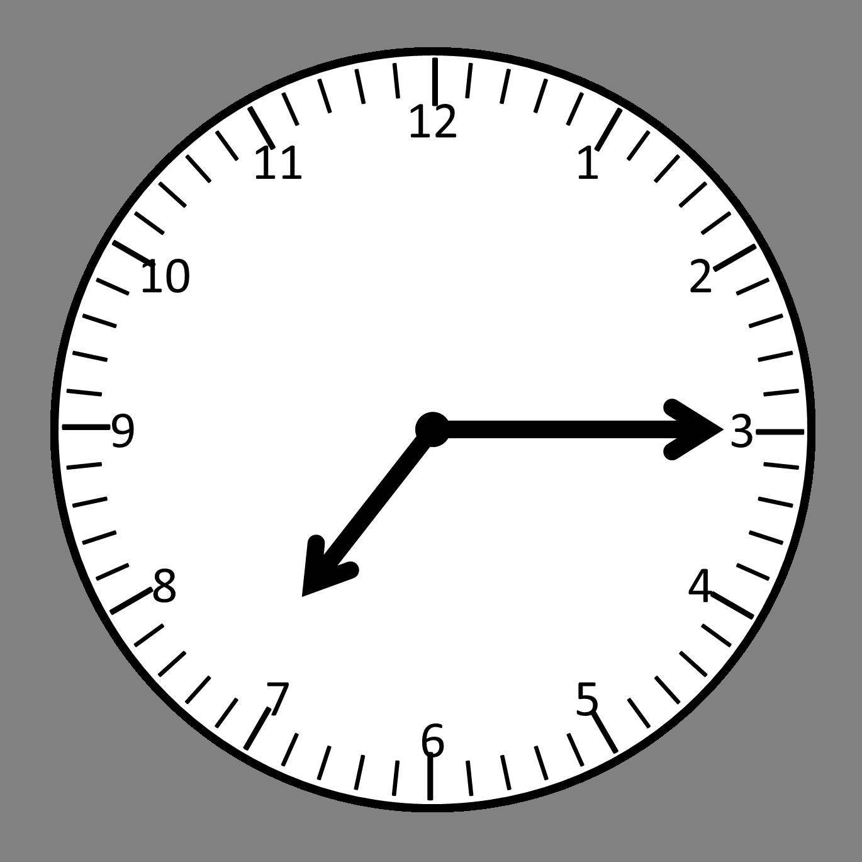 Clock clipart 7 o clock.  analog panda free