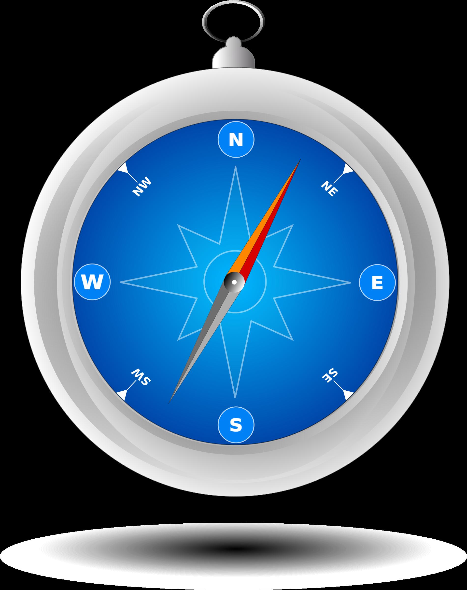 Clock clipart blue. Bussola mauro olivo big
