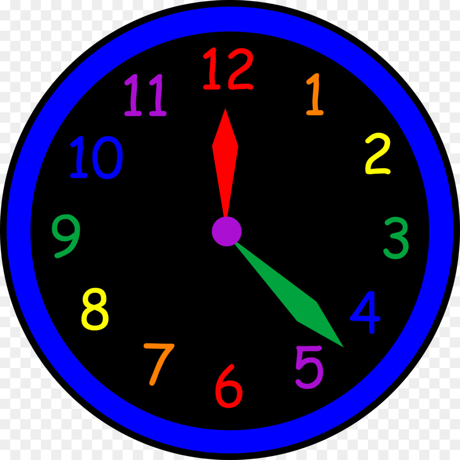 clock clipart circle